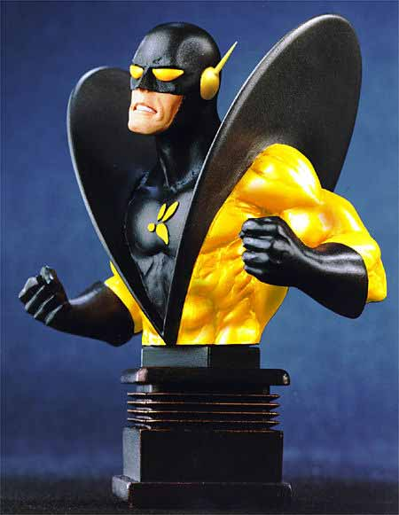 Bowen Designs Yellow Jacket Mini Bust